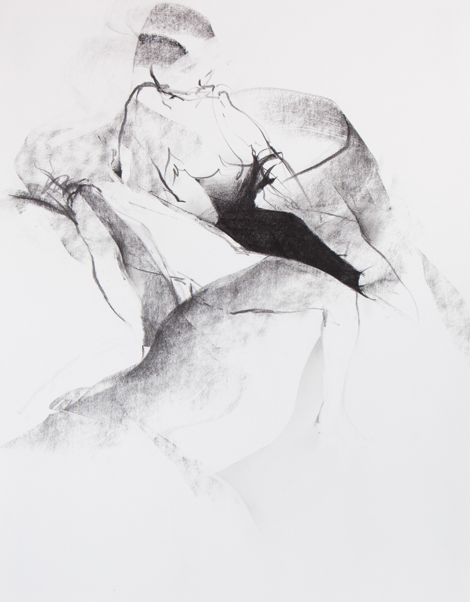Natascha Schmitten - Untitled, 2019, graphite on paper, 40 x 30 cm