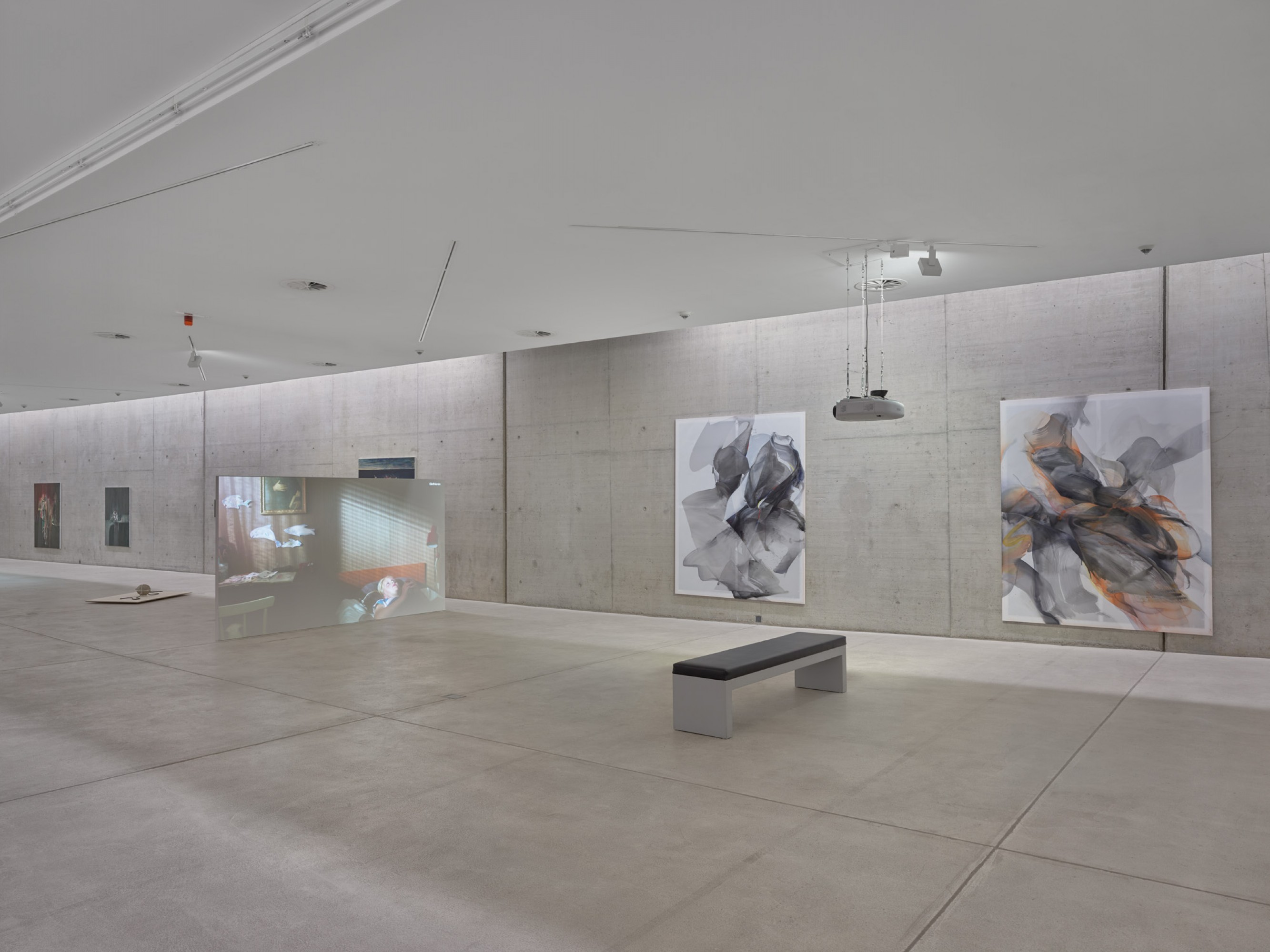 Natascha Schmitten - Installation view, Taking Root, KIT - Kunst im Tunnel, 2019, Düsseldorf, DE, Foto: Ivo Faber